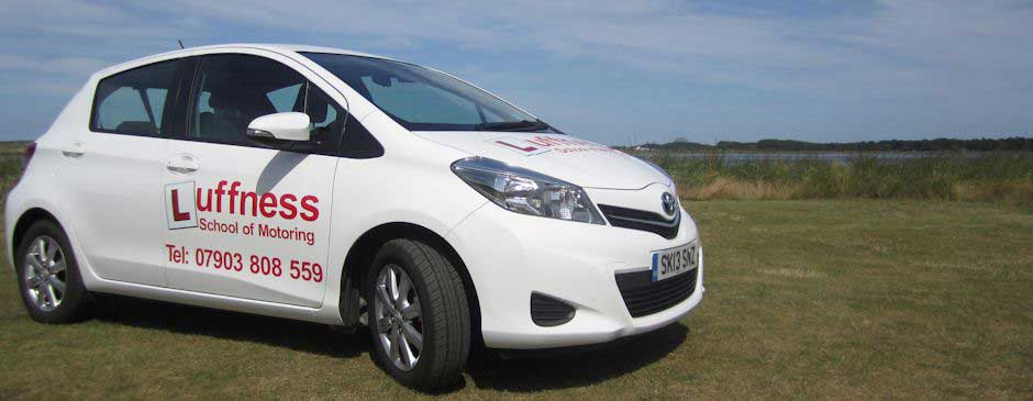 East Lothian driving instructors car